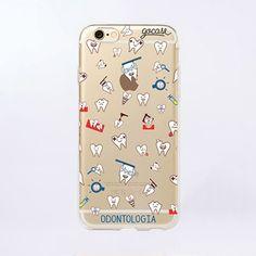 Capinha de celular Dentinhos para iPhone, Samsung - Gocase