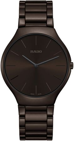 Rado Watch True Thinline Colour #add-content #basel-17 #bezel-fixed #bracelet-strap-ceramic #brand-rado #case-depth-5mm #case-material-ceramic #case-width-39mm #delivery-timescale-call-us #dial-colour-brown #gender-mens #luxury #movement-quartz-battery #new-product-yes #official-stockist-for-rado-watches #packaging-rado-watch-packaging #price-on-application #style-dress #subcat-true #supplier-model-no-r27269302 #warranty-rado-official-2-year-guarantee #water-resistant-30m