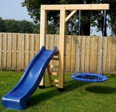 135 amazing backyard patio remodel ideas -page 4 Backyard Swings, Backyard For Kids, Backyard Projects, Outdoor Projects, Backyard Patio, Backyard Landscaping, Garden Kids, Kids Outdoor Play, Outdoor Fun