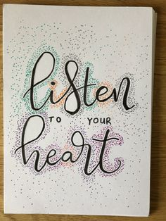Listening To You, Doodles, Arabic Calligraphy, Journal, Arabic Calligraphy Art, Donut Tower, Doodle, Zentangle