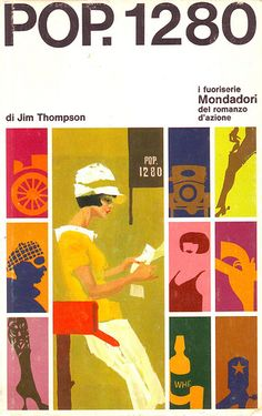 """Cover of the italian edition of the novel """"POP. by Jim Thompson. Illustration by the great late Ferenc Pintér. Book Cover Design, Book Design, Graphic Design Typography, Graphic Art, Pop Art, Arte Pop, Art Graphique, Art Design, Album Covers"""