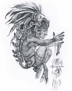 🌟GIVEAWAY🌟 What's going on everyone, I haven't done one of these in awhile! So check it, please feel free to comment a story that best fits… Chicano Tattoos, Chicano Art, Tattoo Deus, Aztec Religion, Aztec Warrior Tattoo, Aztec Symbols, Mayan Symbols, Aztec Drawing, Aztecas Art