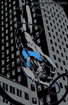 Nightwing - by Ammotu.deviantart.com on @deviantART