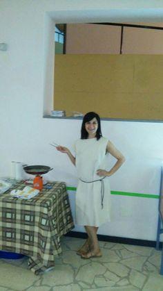 Katia in abito fenicio