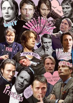 the many faces of Mads . . .