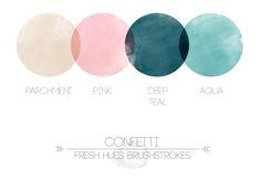 Confetti Brushstrokes