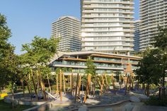Foreco innovatief in hout (Project) - Zorlu Center Playground - PhotoID #317279 - architectenweb.nl