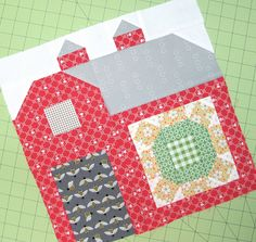 The Quilty Barn Along...Barn 6 - Sunny Sunflower Tutorial!!!...