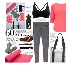 """Yoga"" by cynthia6 ❤ liked on Polyvore featuring NIKE, Crescent Moon Yoga, sanuk and Beyond Yoga"