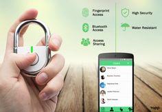 TAPP: The World's First Smart Fingerprint Padlock   Indiegogo