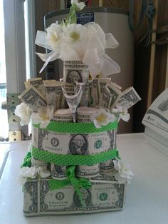 Need a gift for a man with a beard? ✩ Check out this list of creative present ideas for beard lovers Money Birthday Cake, Money Cake, Mom Birthday, Birthday Gifts, Birthday Ideas, Creative Money Gifts, Creative Crafts, Liquor Gift Baskets, Money Creation