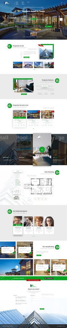 Real Estate & Property PSD Template by themexriver | ThemeForest