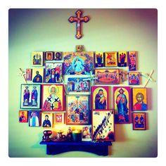 Icon corner\family altar