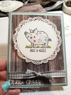 This Little Piggy Diana Gibbs Stampin' Up!