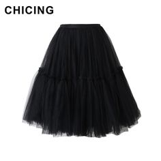 Decoration: 3 Layered Silhouette: Ball Gown Swing Pleated Fluffy Flared Tutu Skirts Occassion:Party, Cocktail, Office, Church, Daily wear Best choice if you want to look more graceful and charmi… Fast Fashion, Fashion 2017, Fashion Beauty, Fashion Outfits, Womens Fashion, Fashion Trends, Adult Tulle Skirt, Tutu Skirts, All About Fashion