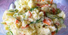 Uma deliciosa salada japonesa de batata que você não pode deixar de experimentar em casa, ideal para quem deseja receitas novas no cardápio. Lembra um pouco à nossa velha e querida salada maionese, mas é um pouco diferente. Ideal para um churrasquinho no final de semana com o toque