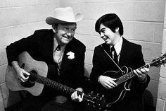 Lester Flatt & Marty Stuart