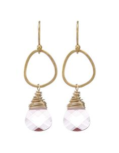 Moonrise Jewelry - Giza Earrings- Pink