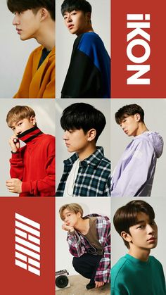 Ikon Members New Wallpaper Collection. Ikon All Members New Most Famous And Popular Photo Collection Kim Jinhwan, Chanwoo Ikon, Btob, Mamamoo, 2ne1, Yg Groups, Super Junior, Ikon Member, Comics