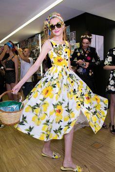 Dolce & Gabbana Spring 2016 Backstage #ItaliaIsLove