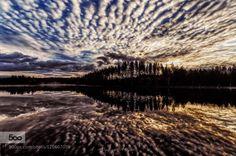 Awakening by Karilahti  A.K awakening clouds lake landscape nikon Awakening Karilahti