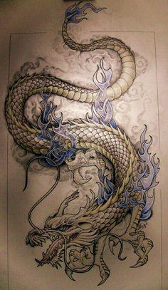 Tattoo Trends – dragon tattoo patterns - Famous Last Words Dragon Tattoo Patterns, Dragon Tattoo Designs, Tattoo Designs Men, Pattern Tattoos, Sleeve Designs, Body Art Tattoos, New Tattoos, Sleeve Tattoos, Cool Tattoos