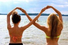 Best friends! Cute idea!