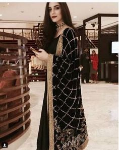 Every woman wants to wear latest designer dresses because style is a way to say who you are without having to speak. Let's have a look at Designer Party Dresses 2017 Shadi Dresses, Nikkah Dress, Pakistani Bridal Dresses, Pakistani Dress Design, Pakistani Outfits, Indian Dresses, Indian Outfits, Stylish Dresses, Elegant Dresses