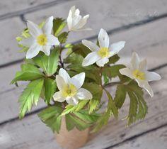 Создаем цветок «ветреница дубравная»: работаем с фоамираном - Ярмарка Мастеров - ручная работа, handmade