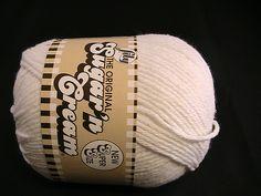 Ravelry: juliew8's Lily Sugar'n Cream Solids & Denim  White
