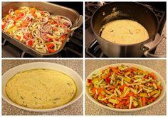Roasted Root Vegetable and Polenta Casserole