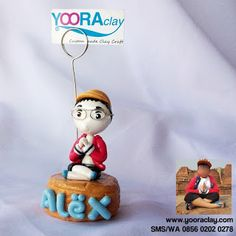 Clay figure Alex