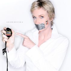 NO H8 Jane Lynch...she's one inspirational & funny lady!