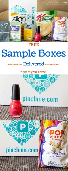 PINCHme – free product samples for YOU! | Money Saving | Pinterest ...