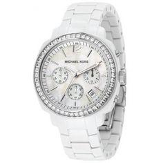 Mooie witte Michael Kors Horloge