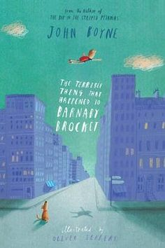 One of our favourite children's books this month - The Terrible Thing That Happened to Barnaby Brocket by John Boyne