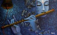radha krishna painting on canvas - Google Search