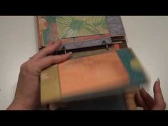Scrapbook Tutorial - Laura's Paper Bag Flip or Vertical Mini Album, Video 1 of 1