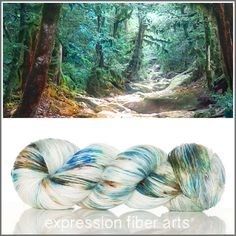 Expression Fiber Arts, Inc. - OBERON SUPERWASH MERINO SILK PEARLESCENT FINGERING YARN