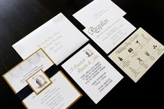 Paper Invitations - Michigan Wedding with Pearls Events: Real Wedding 2013 Church Ceremony, Reception, Invitation Paper, Invitations, Rehearsal Dinners, Real Weddings, Wedding Planner, Michigan, Wedding Day