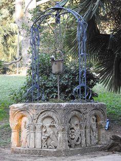 Parco del Valentino (TO) opera del giardiniere Rodolfo
