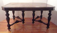 Description:First half 20th century gate leg dining table.  Material:Wood  Dimension: 60(W) 30.75(H) 45(D)  Location:MCT  Quantity:1  Status:avail  Price:Call for Price  Price Type:single