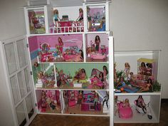 DIY Barbie Doll House, with a Garage