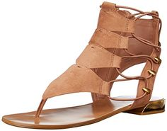 Aldo Womens Athena GLADIATOR Sandal Light Brown 65 B US *** Learn more by visiting the image link.(This is an Amazon affiliate link)