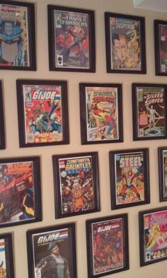 Comic Book Frame $1 Dollar Store Life Hack - Brilliantly Easy... Use black card stock and $1 document frames from Dollar Store / Dollar Tree / Family Dollar