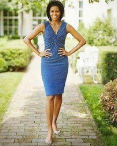 First Lady Michelle Obama by pingan Michelle Obama Fashion, Barack And Michelle, First Lady Of Usa, Glamour, Barack Obama Family, Malia Obama, Malia And Sasha, American First Ladies, First Black President