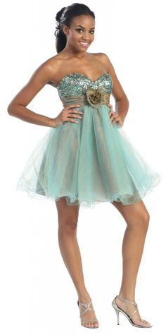 Short Tulle Prom Dress Sassy Homecoming Mini Formal-The Dress Outlet Junior Formal Dresses, Prom Dresses Uk, Bridal Party Dresses, Tulle Prom Dress, Occasion Dresses, Short Dresses, Bridesmaid Dresses, Organza Dress, Dresses 2014