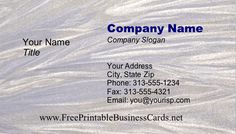 Textured lines are positioned horizontally on this dynamic printable business card. Free to download and print