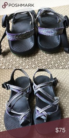 bafe3ea6103d Chacos for Sale Worn for a trip to Hawaii and I no longer need. Size 8  Color is a purple blue Chaco Shoes Sandals