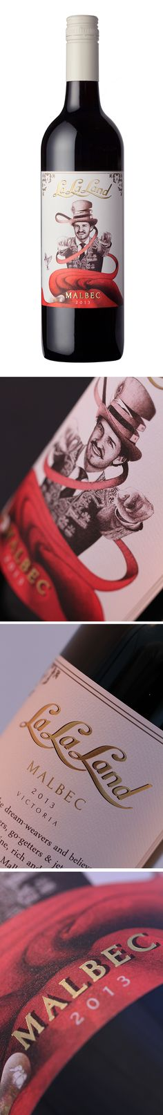 This is was of our favour design projects to complete for Concept wine brand La La Land Wines. This is also one of our Best Wine Label Designs. The theme is Alice in Wonderland inspired but with a Spanish and Surreal Twist. The main character 'El Loco' or the Mad Hatter is in Matador dress and with his red cloke invites people to come to La La Land.